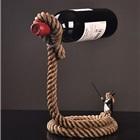 创意兔子魔术师红酒架
