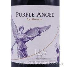 智利紫天使批发、紫天使干红价格、蒙特斯红酒代理