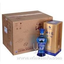 洋河系列上海批发、海之蓝专卖、海之蓝团购价格