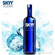 深蓝伏特加750ml价格】Skyy Vodka批发【洋酒供应