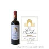 狮堡庄园干红葡萄酒白标