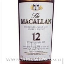 单一麦芽威士忌批发、麦卡伦批发、麦卡伦12年价格