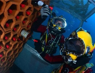 法国酿酒协会进行海底藏酒实验