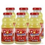 上海果汁饮料批发、都乐苹果汁批发(都乐玻璃瓶250ml价格)