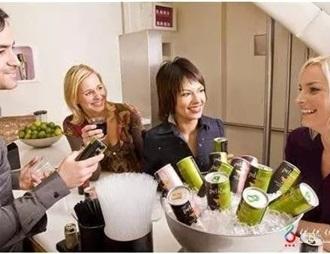 拉罐与盒装葡萄酒流行美国千禧一代