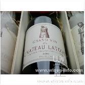拉菲庄园干红葡萄酒2004