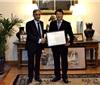 意大利政府最高荣誉首次授予中国葡萄酒界人士
