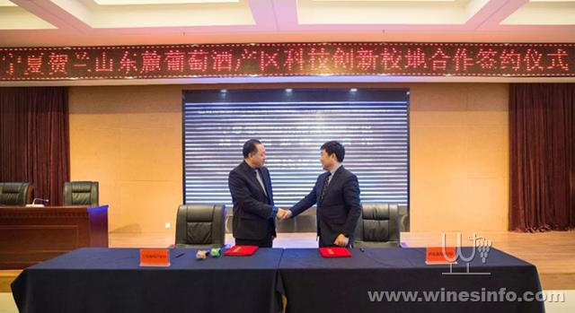 宁夏葡萄产业发展局与西北农大葡萄酒学院合作