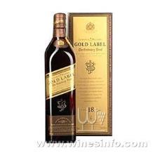 (尊尼获加)苏格兰威士忌黑红蓝金方¥700ml40度批发#代理