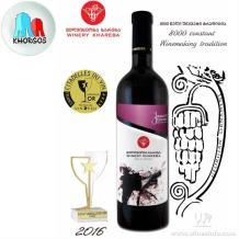 國際金獎:格魯吉亞KHAREBA金茲瑪拉烏利2014法定PDO半甜葡萄酒