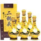 牛栏山经典二锅头52度黄龙清香型白酒500ml*6瓶整箱