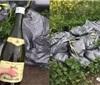 数十瓶葡萄酒遗弃英国街头 物主或将被当局定罪