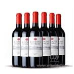 奔富洛神山庄梅洛干红西拉子赤霞珠干红葡萄酒
