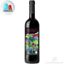 格鲁吉亚202金兹玛拉乌利2016法定PDO半甜葡萄酒