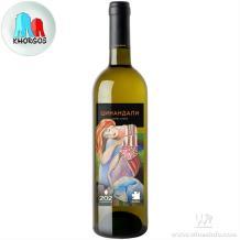 格鲁吉亚202茨楠达利法定PDO干白葡萄酒