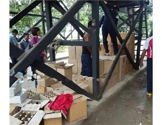 緬甸地方檢查站查獲數千瓶假葡萄酒 揪出背后大工廠