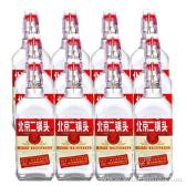 永豐牌北京二鍋頭42度白瓶紅標清香型白酒500ml