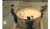 如何制作巨型葡萄酒木桶