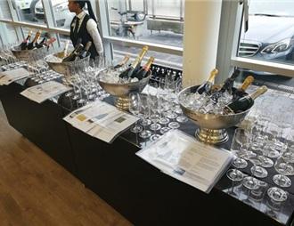2018年香槟酒出口:超越历史市场,数据增长频现