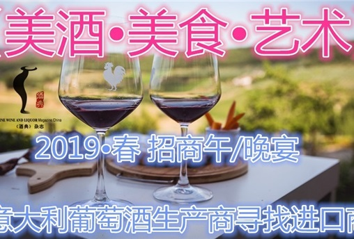 意大利葡萄酒招商午/晚宴