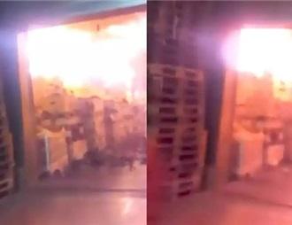 波尔多一仓库200万瓶葡萄酒被烧毁 损失一千万英镑