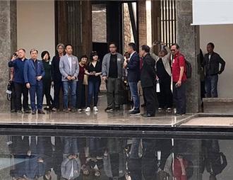 香港考察团莅临青铜峡葡萄酒产区考察