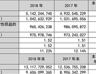 张裕葡萄酿酒股份有限公司公布2018年年报