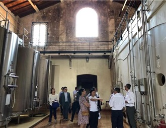 茅臺集團調研組進駐法國海瑪酒莊開展現場調研