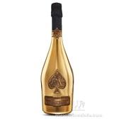 法国原瓶进口黑桃A香槟/黄金版【钢琴烤漆礼盒装】09