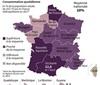 """法国饮酒""""地图""""出炉 南部偏爱葡萄酒"""