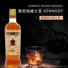 堅尼地威士忌 KENNEDY爱尔兰威士忌爱尔兰进口鸡尾酒洋酒烈酒伏特加