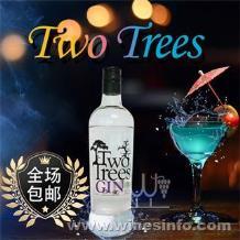 Two Trees 琴酒原瓶原装进口爱尔兰威士忌、鸡尾酒、洋酒、烈酒、伏特加