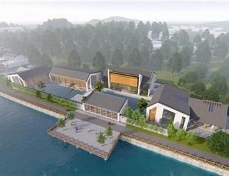 张弼士博物馆在广东省大埔县动工兴建