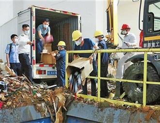 8203瓶涉案酒被集中销毁 均为拱北海关查获