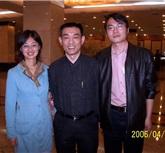 06年4月在葡萄酒学院和研究生