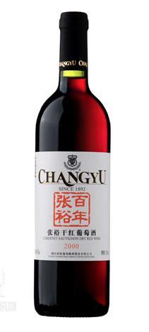 百年张裕干红葡萄酒 2000