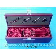 JX-175木盒装单瓶高级红酒套装(红酒)
