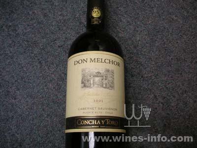 智利酒王donmelchor2001红酒