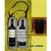 JX-258A  1件双支皮盒高级红酒套装(红酒)