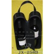 JX-258B  1件双支皮盒高级红酒套装(红酒)