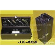阳江 鸿享五金厂生产JX-405  5件皮盒高级红酒套装(红酒)