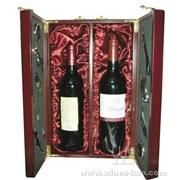 木制红酒开门包装礼盒