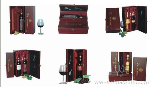 圆筒型,不规则形的葡萄酒盒也不少见.
