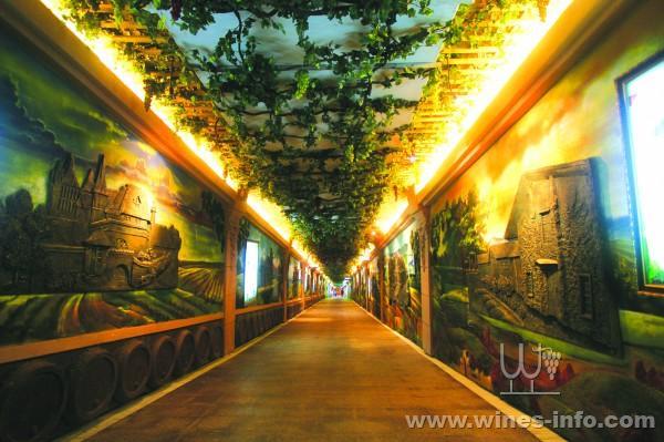 青岛葡萄酒博物馆馆长王琪范介绍说,他们组织红酒坊特色街的15家