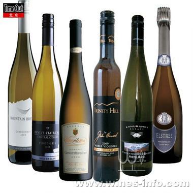 新西兰的白葡萄酒