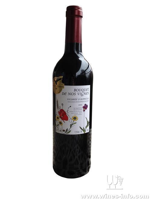 金奖酒:法国子爵花园干红葡萄酒
