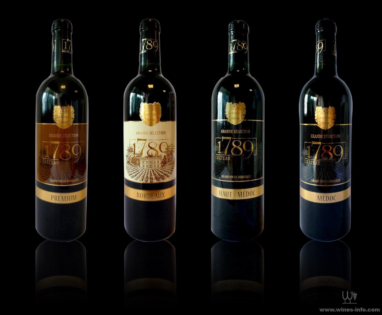 1789波尔多城堡红葡萄酒