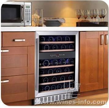 橱柜嵌入式红酒柜:中国葡萄酒资讯网