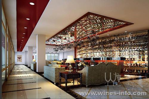 中式酒窖u型图 别墅酒窖装修效果图 地下室酒窖效果图 酒窖酒柜效果图