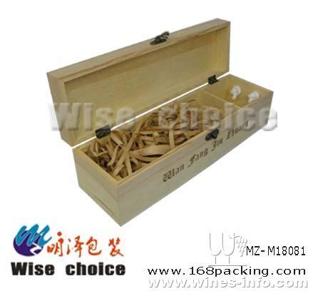 木质葡萄酒包装盒 红酒木盒